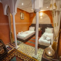 Отель Dar Ikalimo Marrakech 3* Улучшенный номер с различными типами кроватей фото 8