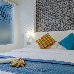 Отель Velana Beach 3* Номер Делюкс с различными типами кроватей фото 4