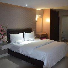 Отель NRC Residence Suvarnabhumi 3* Улучшенный номер с различными типами кроватей фото 7