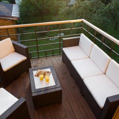 Апартаменты Vecbulduri Apartment Jurmala балкон