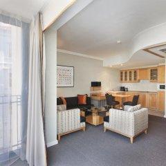 Отель Golden Prague Residence 4* Улучшенные апартаменты с различными типами кроватей фото 24