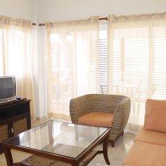 Отель Laguna Golf White Sands Apartment Доминикана, Пунта Кана - отзывы, цены и фото номеров - забронировать отель Laguna Golf White Sands Apartment онлайн комната для гостей фото 5