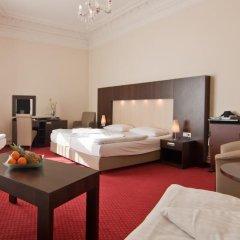 Novum Hotel Graf Moltke Hamburg 3* Стандартный номер разные типы кроватей фото 5
