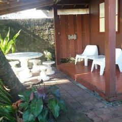 Отель Guest Beach Bungalow Tahiti Французская Полинезия, Махина - отзывы, цены и фото номеров - забронировать отель Guest Beach Bungalow Tahiti онлайн бассейн