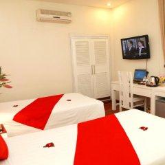 Hanoi Amanda Hotel 3* Улучшенный номер с различными типами кроватей фото 6