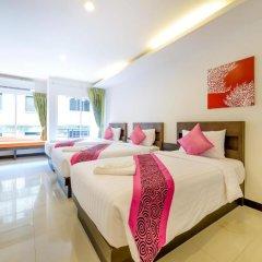 Отель The Three by APK 3* Улучшенный номер двуспальная кровать фото 6