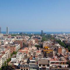 Апартаменты Click&flat Eixample Derecho Apartments Барселона балкон