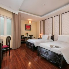 Quoc Hoa Premier Hotel 4* Номер Делюкс двуспальная кровать
