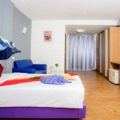 Отель Sea Breeze Jomtien Residence 3* Улучшенный номер с различными типами кроватей фото 3