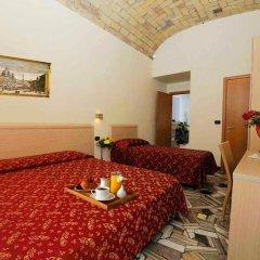 Hotel Campidoglio 3* Стандартный номер с различными типами кроватей фото 8