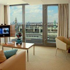 Отель Park Plaza County Hall London 4* Люкс с различными типами кроватей фото 5