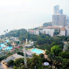 Отель Pattaya Park Beach Resort 4* Номер Делюкс фото 2