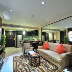 Отель Grand President Bangkok 4* Студия Делюкс с различными типами кроватей фото 6