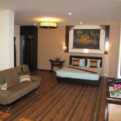Отель QG Resort 3* Семейный номер Делюкс с двуспальной кроватью