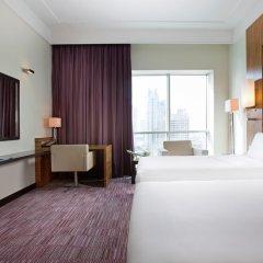 Отель Pullman Dubai Jumeirah Lakes Towers 5* Улучшенный номер с различными типами кроватей