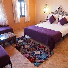 Отель Riad Bouchedor Марокко, Уарзазат - отзывы, цены и фото номеров - забронировать отель Riad Bouchedor онлайн комната для гостей фото 3