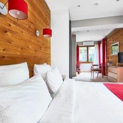 Гостевой дом Резиденция Парк Шале Стандартный номер с различными типами кроватей фото 15