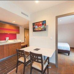 Hotel Lyon Métropole 4* Семейные апартаменты с двуспальной кроватью фото 4