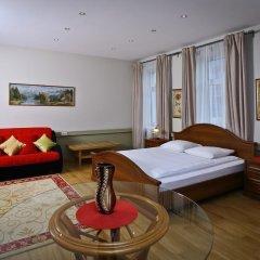 Гостиница Елисеефф Арбат 3* Стандартный семейный номер с двуспальной кроватью фото 33