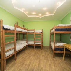Crazy Dog Hostel Кровать в общем номере с двухъярусной кроватью
