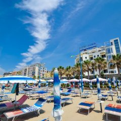 Iliria Internacional Hotel пляж