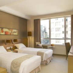 Отель The Salisbury - YMCA of Hong Kong Стандартный номер с 2 отдельными кроватями