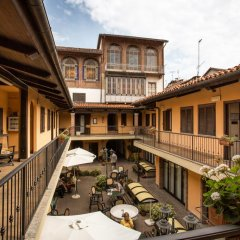 Отель Cavallo Bianco балкон