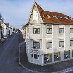 Stavanger Lille Hotel & Cafe 3* Номер с общей ванной комнатой с различными типами кроватей (общая ванная комната) фото 8