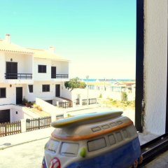 Отель Surf House Peniche парковка