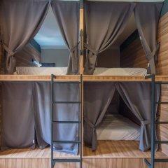 Fin Hostel Co Working Кровать в общем номере с двухъярусной кроватью фото 2