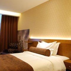 Отель James Joyce Hotel Xi'an Datang Furong Garden Китай, Сиань - отзывы, цены и фото номеров - забронировать отель James Joyce Hotel Xi'an Datang Furong Garden онлайн комната для гостей фото 2