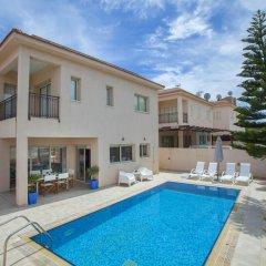 Отель Villa Michelle 2 Кипр, Протарас - отзывы, цены и фото номеров - забронировать отель Villa Michelle 2 онлайн бассейн