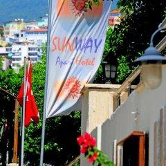 Sunway Apart Hotel Аланья приотельная территория