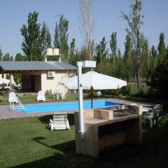 Отель Cabañas El Eden Сан-Рафаэль бассейн