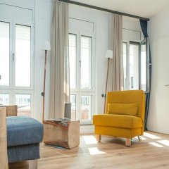 Апартаменты Design-Apartments im lebendigen Haus комната для гостей фото 5