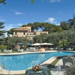 Отель Grand Hotel Villa Fiorio Италия, Гроттаферрата - отзывы, цены и фото номеров - забронировать отель Grand Hotel Villa Fiorio онлайн бассейн фото 3