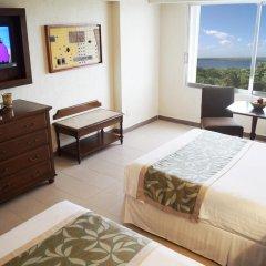 Отель Royal Solaris Cancun - Все включено 5* Номер Делюкс разные типы кроватей фото 6