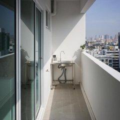 Апартаменты New Apg Apartments Бангкок балкон