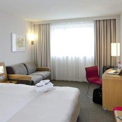 Отель Novotel Zurich City West 4* Улучшенный номер с двуспальной кроватью фото 2