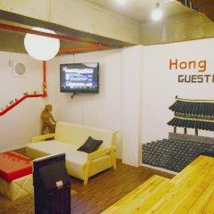Отель Hong Guesthouse Dongdaemun Южная Корея, Сеул - отзывы, цены и фото номеров - забронировать отель Hong Guesthouse Dongdaemun онлайн интерьер отеля фото 2
