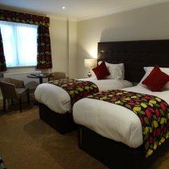 Nailcote Hall Hotel 4* Стандартный номер с 2 отдельными кроватями