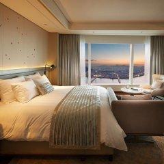 Отель Signiel Seoul Номер Делюкс с разными типами кроватей фото 3