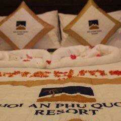Отель Hoi An Phu Quoc Resort 3* Улучшенный номер с различными типами кроватей фото 6