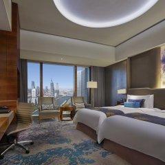 Shangri-La Hotel, Tianjin 5* Номер Делюкс с различными типами кроватей фото 2