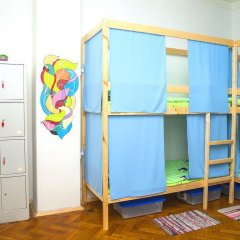 Гостиница Hostels Rus Kitay Gorod Кровать в мужском общем номере двухъярусные кровати фото 3