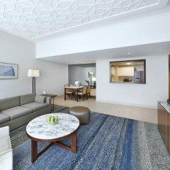 Отель DoubleTree by Hilton Dubai Jumeirah Beach 4* Семейный люкс с 2 отдельными кроватями фото 4