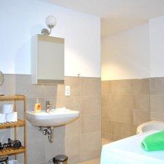 Отель Vailo City Suites Leipzig Altstadt ванная