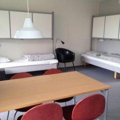 Отель Danhostel Kolding 3* Стандартный семейный номер с двуспальной кроватью фото 5