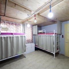 Lazy Fox Hostel Кровать в общем номере с двухъярусной кроватью фото 4