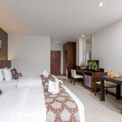Отель The Holiday Resort 4* Улучшенный номер с различными типами кроватей фото 5